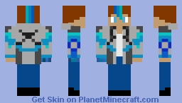 Morgan Errylin - Friend's OC Minecraft Skin