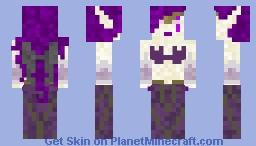 Morgana The Fallen Angel Minecraft Skin