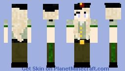 Moscow Female Uniform (city Worker) Minecraft Skin