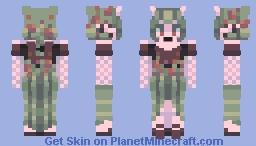 moss heart Minecraft Skin
