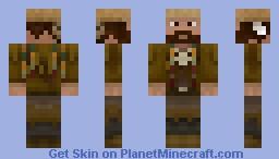 The Mountain Man Minecraft Skin