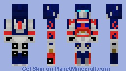 Transformers Movie Optimus Prime Minecraft Skin