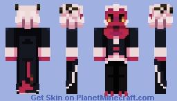 [ moxxie ] - helluva boss Minecraft Skin