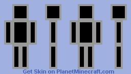 mr. game & watch Minecraft Skin