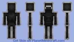 Mr. Game & Watch (Alternates in Description) Minecraft Skin