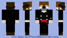Sir with Owl Mask Minecraft Skin