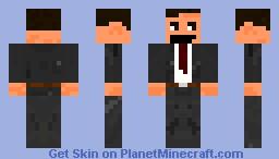 Mr Bean Minecraft Skin