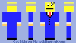 Mr Burns Minecraft Skin