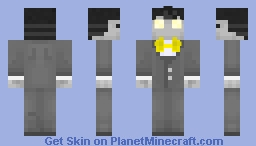 Mr.Fate [Death and Taxes] Minecraft Skin