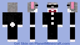 Mr. Nager Minecraft Skin