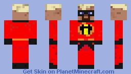 Mr. Incredible Minecraft Skin
