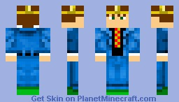 MR.King Minecraft Skin