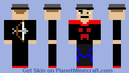 dude is ready Minecraft Skin