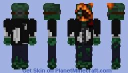 Mr Zombie Minecraft Skin
