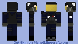 Mobile Task Force [SCP] (Happy Halloween Community Event) Minecraft Skin
