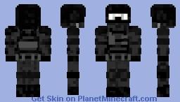 Swat (American Soldier) Minecraft Skin