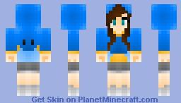 Mudkip Hoodie Minecraft Skin