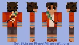 Mugen -Samurai Champloo Minecraft Skin