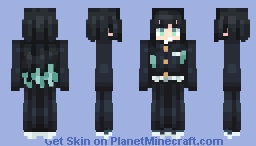 Muichiro Tokito - Kimetsu no yaiba Minecraft Skin