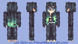 「Unable to focus on anything, I've been daydreaming these days」 Minecraft Skin