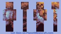 Frozen dude Minecraft Skin