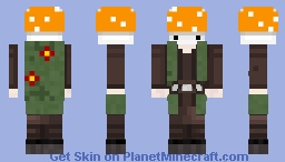 Mushroom Myrad Minecraft Skin