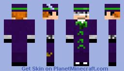 Music Meister Minecraft Skin