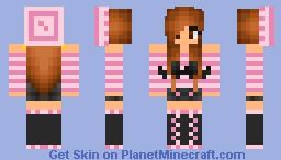 Pink Mustache Girl!