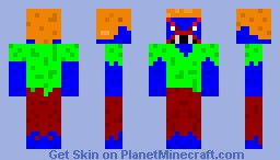Mutant Steve v.1.0 (starting to shade skins) Minecraft Skin
