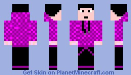 Purple Dude Minecraft Skin