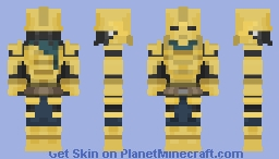 Indoril Ordinator (Morrowind) Minecraft Skin