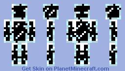glass guy Minecraft Skin