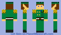 elven person thing... i dunno XD Minecraft Skin