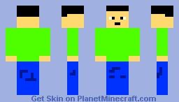 Outside skin Minecraft Skin