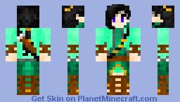 Forest Archer (Updated) Minecraft Skin