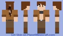 Human Komodithrax Minecraft Skin