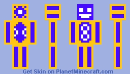 A proof of how bad I am at drawing skins. Minecraft Skin