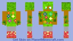 The God of the Garden Minecraft Skin