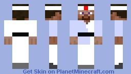 Judo Fighter Minecraft Skin