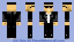 Blues Brothers Minecraft Skin