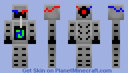 SpectroLaser 2999 Minecraft Skin