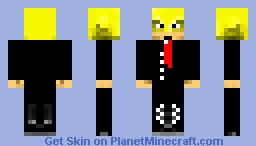 Ramses (with suit) (nacho libre) Minecraft Skin