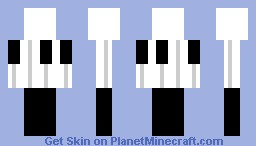 Piano (For Contest) Minecraft Skin
