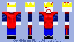 One eyed King Minecraft Skin