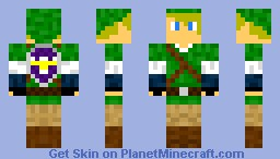 Link - Sacred Shield Minecraft Skin