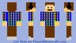 AWESOME GUY fixed Minecraft Skin