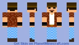 Cowboy Dude Minecraft Skin