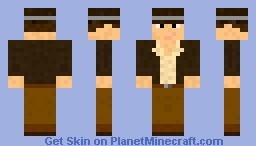 Dave Chaos/Reporter Minecraft Skin