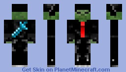 Zombie Body-Guard! (Looks Better in 3d) Minecraft Skin