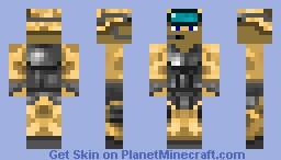 U.S Marine (Looks better in the viewer) Minecraft Skin